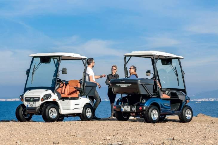 PILOTCAR Aracılığıyla Kalite Ve Şıklık Golf Araçları İle Buluşuyor