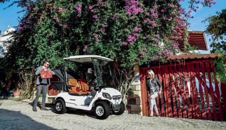 Zengin Tasarım Çeşitliliğiyle Her Alanda Çevre Dostu Elektrikli Golf Araçları